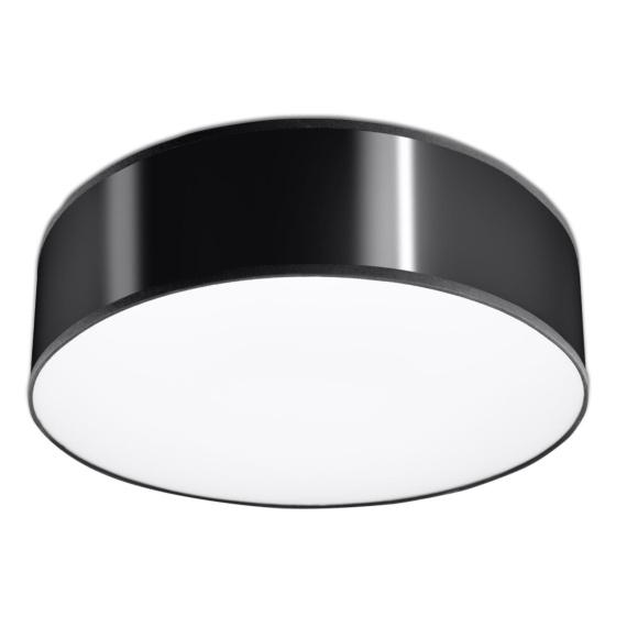 Plafon ARENA 35 Czarna Lampy do przedpokoju lampa do przedpokoju
