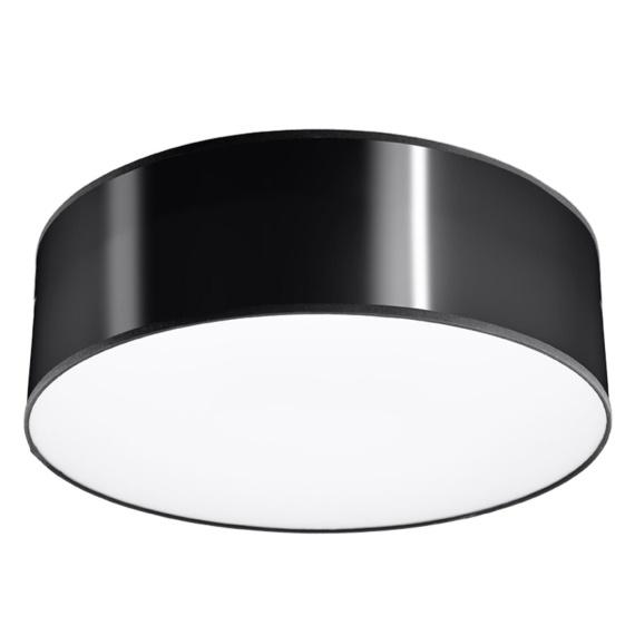 Plafon ARENA 25 czarny Lampy do przedpokoju lampa do przedpokoju
