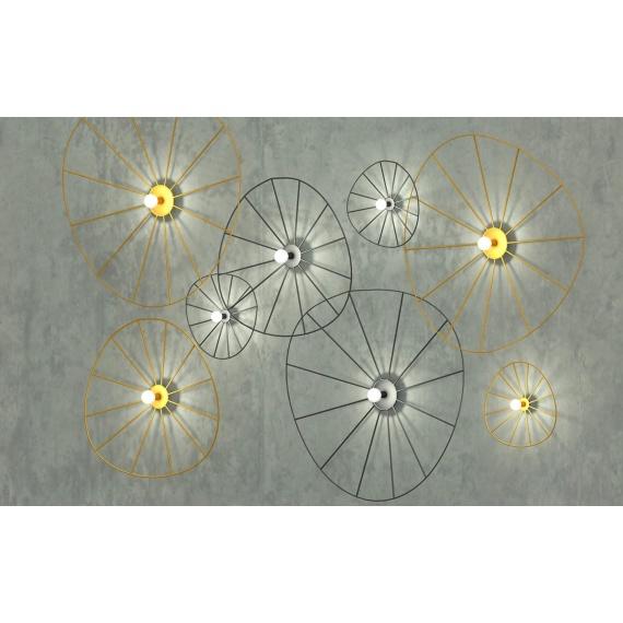 Kinkiet / Plafon ESKOLA 70 CZARNY Oświetlenie LAMPY THORO