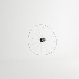 Kinkiet / Plafon ESKOLA 110 CZARNY Oświetlenie LAMPY THORO