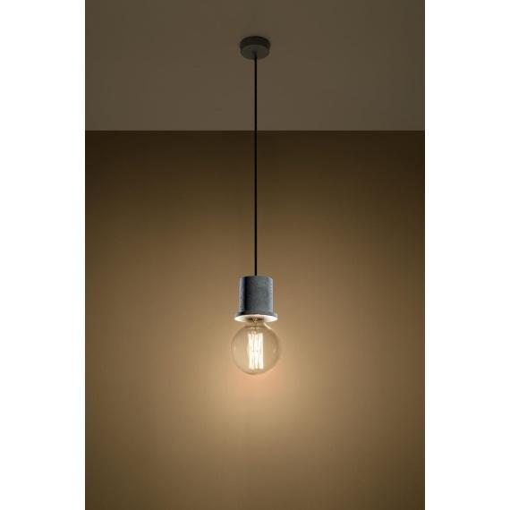 Lampa Wisząca Bono Wiszące | Żyrandole lampa betonowa