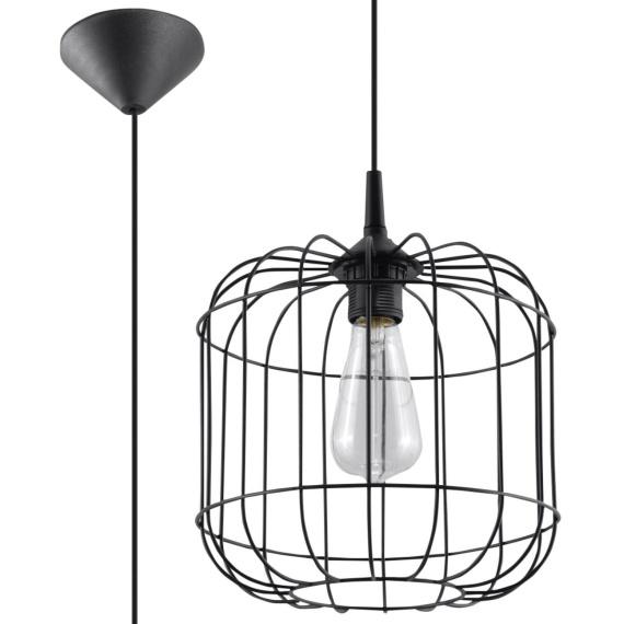Lampa wisząca Celta Wiszące   Żyrandole lampa wisząca druciana