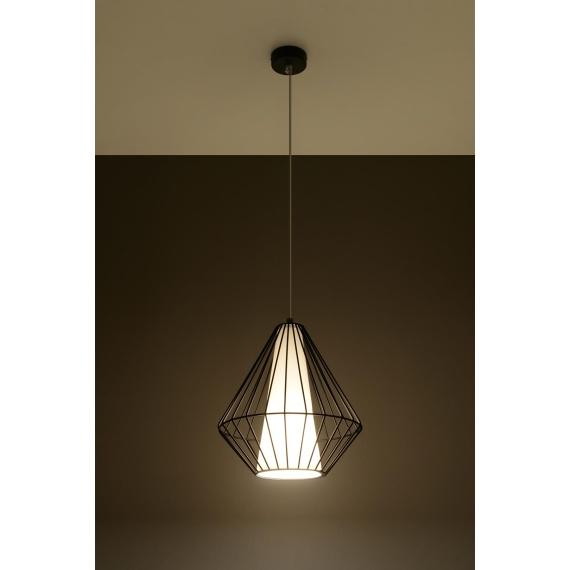 Lampa wisząca Demi Wiszące   Żyrandole lampa wisząca druciana