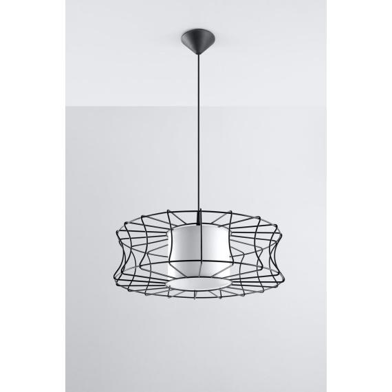 Lampa wisząca Salerno Wiszące | Żyrandole lampa wisząca druciana