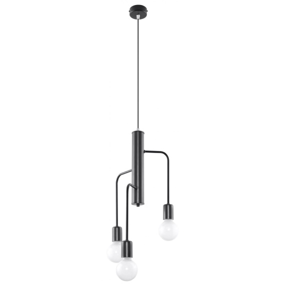 Lampa wisząca sufitowa Duomo 3M Wiszące | Żyrandole lampa wisząca metalowa