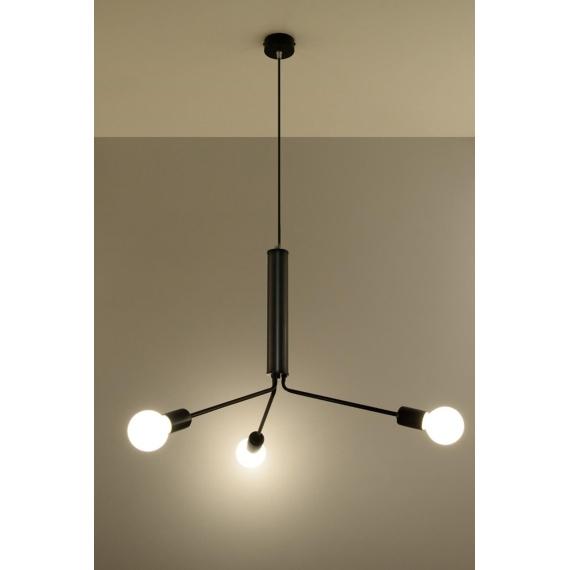 Lampa wisząca sufitowa Duomo 3D Wiszące | Żyrandole lampa wisząca metalowa