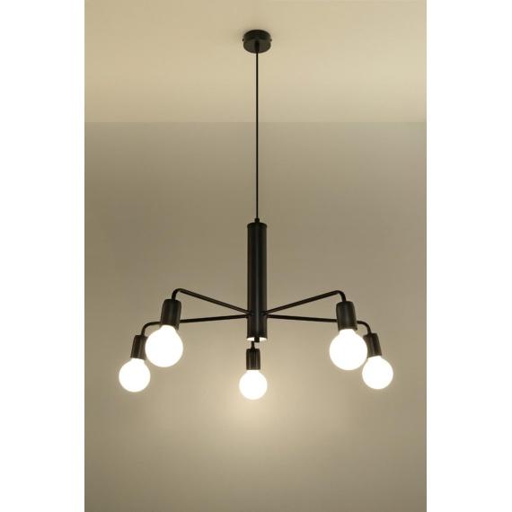 Lampa wisząca sufitowa Duomo 5 Wiszące | Żyrandole lampa wisząca metalowa