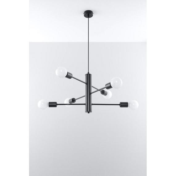 Lampa wisząca sufitowa Duomo 6 Wiszące | Żyrandole lampa wisząca metalowa