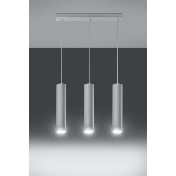Lampa wisząca Lagos 3 Wiszące | Żyrandole lampa sufitowa