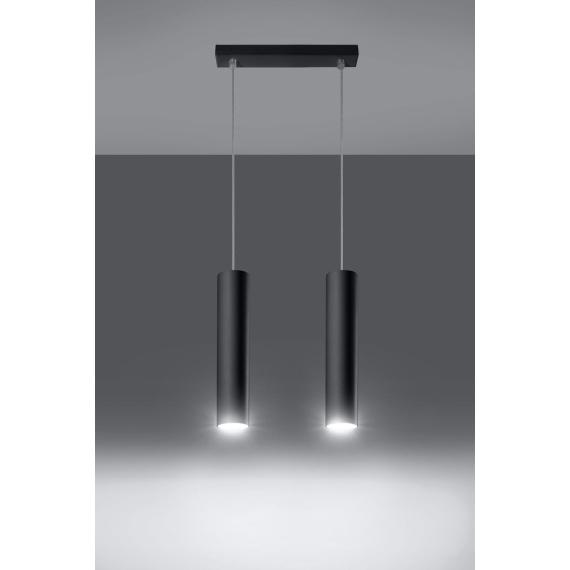 Lampa wisząca Lagos 2 Wiszące | Żyrandole lampa sufitowa