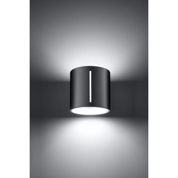 Nowoczesny kinkiet Inez szary Lampy ścienne | Kinkiety kinkiet metalowy