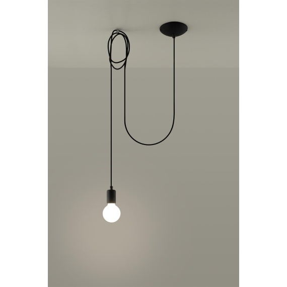 Lampa wisząca Edison 1 Wiszące   Żyrandole lampa pająk