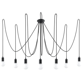 Lampa Edison 7 Wiszące | Żyrandole nowoczesna lampa do salonu
