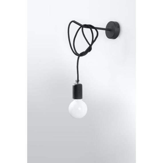 Kinkiet Edison 1 Lampy ścienne   Kinkiety kinkiet