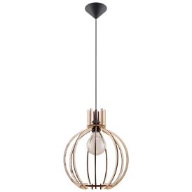 Lampa Wisząca ARANCIA Wiszące | Żyrandole drewniana lampa