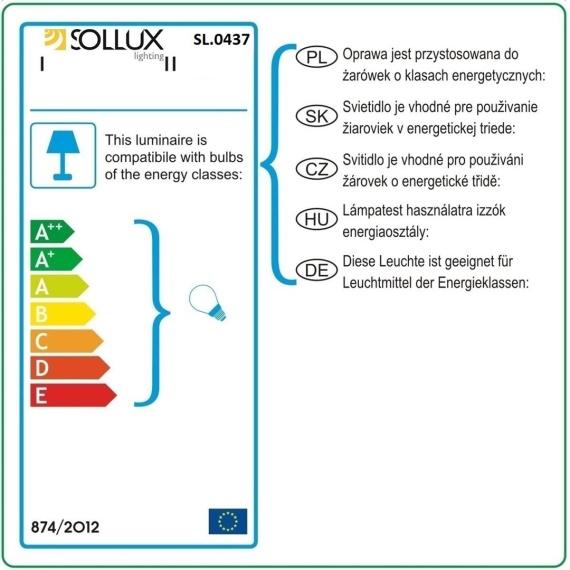 Regulowany kinkiet Oculare Lampy ścienne | Kinkiety kwadratowy kinkiet