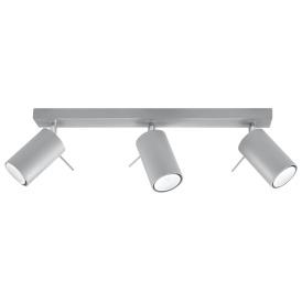 Lampa Sufitowa Plafon RING 3L szary Sufitowe | Plafony lampa spot