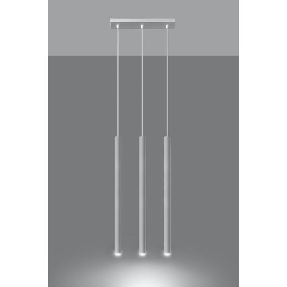 Lampa Wisząca 3 punktowa PASTELO 3 Wiszące   Żyrandole lampa do salonu