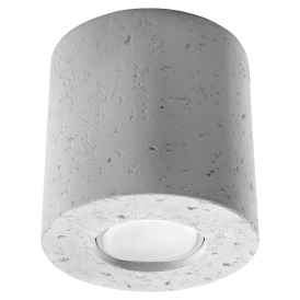 Nowoczesny plafon z betonu Orbis Sufitowe | Plafony lampa sufitowa plafon