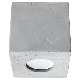 Nowoczesny plafon z betonu Quad Sufitowe | Plafony lampa sufitowa plafon
