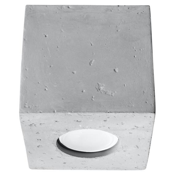 Nowoczesny plafon z betonu Quad Sufitowe   Plafony lampa sufitowa plafon