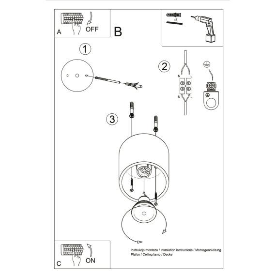 Plafon Orbis Sufitowe | Plafony lampa sufitowa plafon