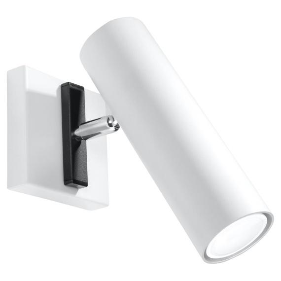 Regulowany kinkiet Direzione Lampy ścienne | Kinkiety biały kinkiet