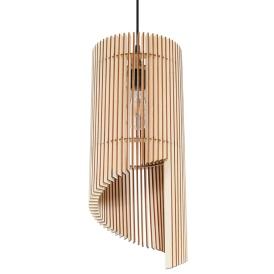 Lampa Wisząca ALEXIA Wiszące | Żyrandole drewniana lampa