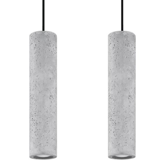 Betonowa lampa wisząca LUVO 2 Oświetlenie betonowa lampa nad stół