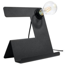 Lampa biurkowa INCLINE Oświetlenie czarna lampka na biurko